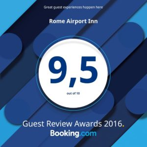 Booking Guest Review 2016 Rome Airport Inn